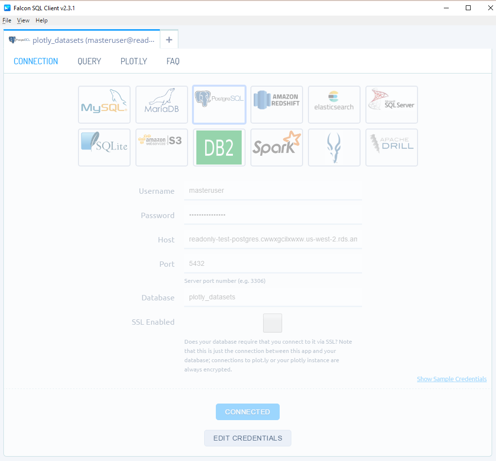 Connect Your Charts and Dashboards to a Postgres Database
