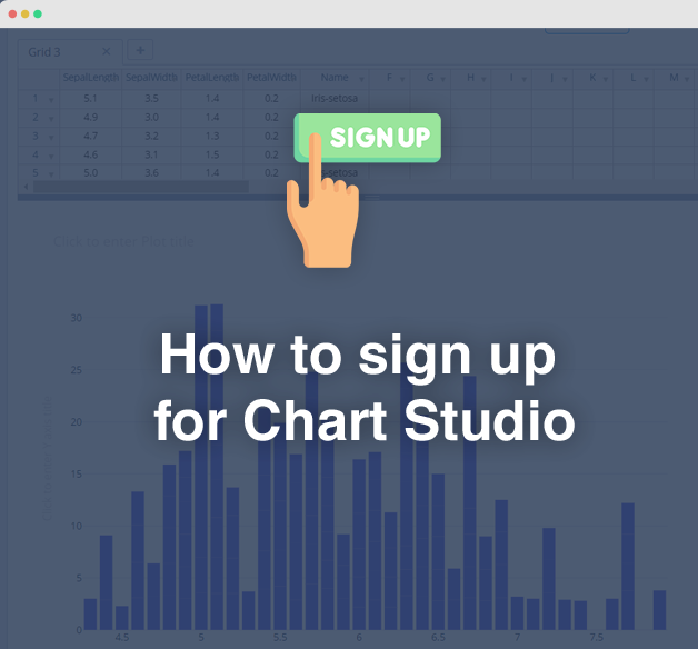 How to sign up for Chart Studio