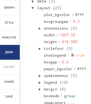 JSON Viewer/Editor in Plotly 2.0