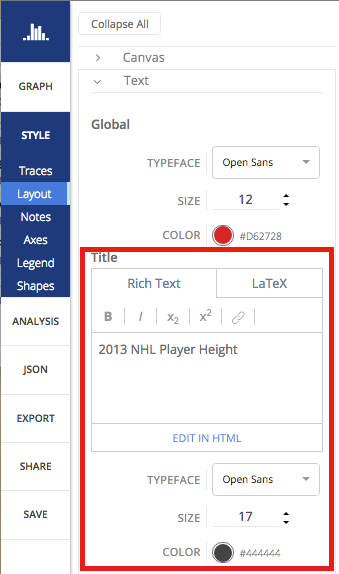 Style Your Plots in Chart Studio